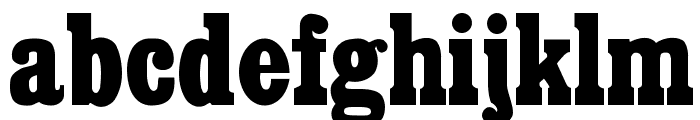 Cairo Font LOWERCASE