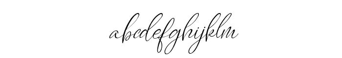 Caitlin Angelica Italic Font LOWERCASE