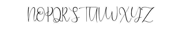 Caitlin Angelica Font UPPERCASE