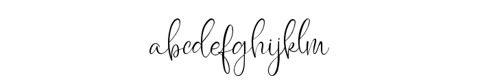 Caitlin Angelica Font LOWERCASE