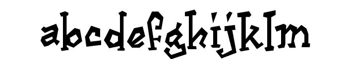 Cajun Boogie Font LOWERCASE