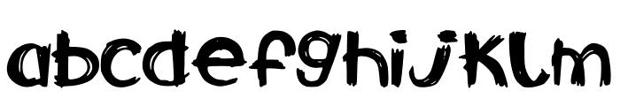 CalabarFirewood Font LOWERCASE