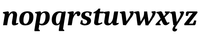 Caladea Bold Italic Font LOWERCASE