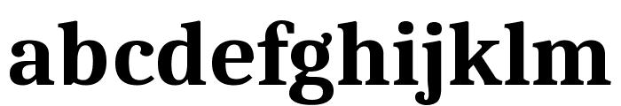 Caladea Bold Font LOWERCASE