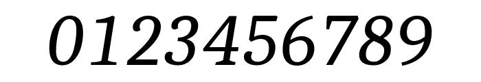 Caladea Italic Font OTHER CHARS