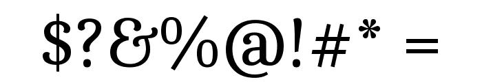Caladea Font OTHER CHARS