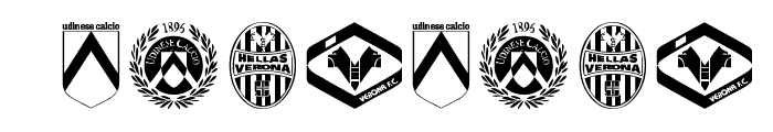 Calcio Font OTHER CHARS