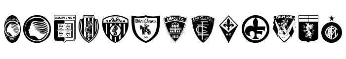 Calcio Font LOWERCASE