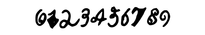 CalebsCoolHandwriting Font OTHER CHARS