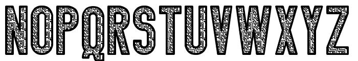 Calendulia St Font UPPERCASE