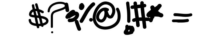CaliGloom Font OTHER CHARS