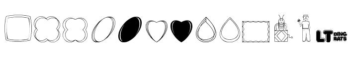 CaliKat's Path Draws LT Font UPPERCASE