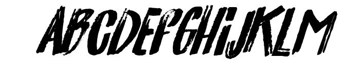 California-Medium Font UPPERCASE
