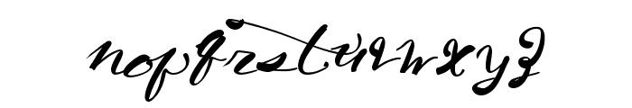 CaliforniaHarvest Font LOWERCASE