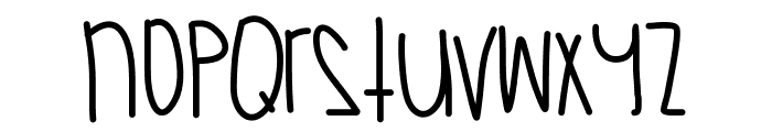CaliforniaSkies Font LOWERCASE