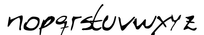 Caligrafica Arito Font LOWERCASE