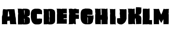 Caligula Font UPPERCASE