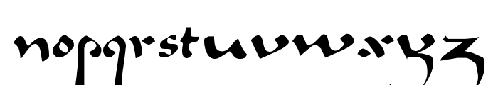 Caliph Regular Font LOWERCASE