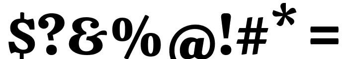Calistoga Regular Font OTHER CHARS