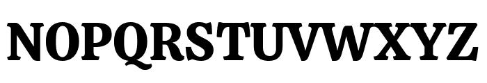 Calistoga Regular Font UPPERCASE