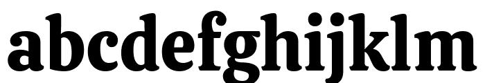 Calistoga Regular Font LOWERCASE