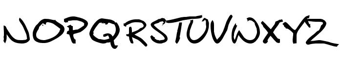 Callahan Font UPPERCASE