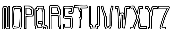 Callaxis Font UPPERCASE