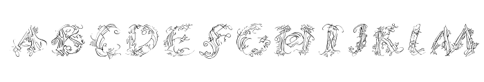 CalliPsoGrafia  Italic Font UPPERCASE