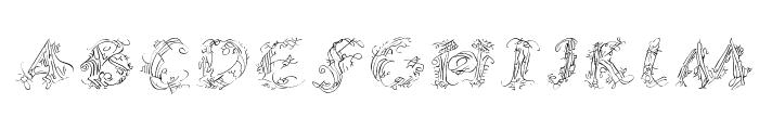 CalliPsoGrafia  Italic Font LOWERCASE