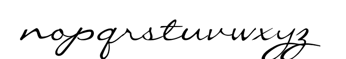 CallieHand Font LOWERCASE