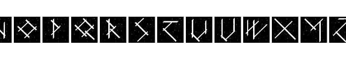 CalligImprovis-BoldPlus Font LOWERCASE