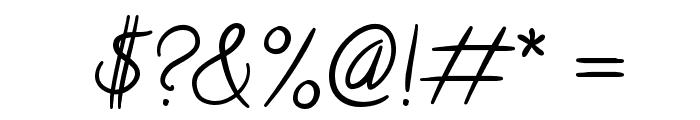 Calligraffiti Font OTHER CHARS