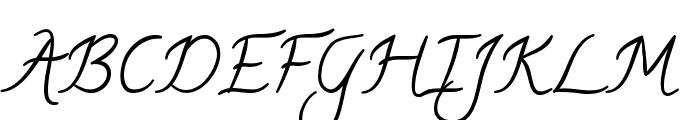 Calligraffiti Font UPPERCASE