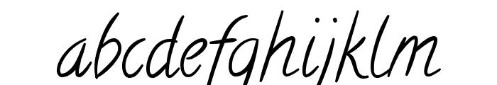 Calligraffiti Font LOWERCASE