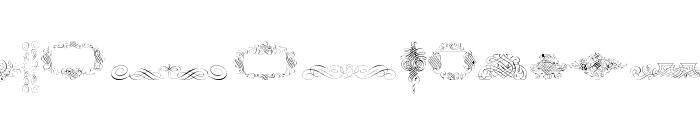 Calligraphia Latina Free Font LOWERCASE