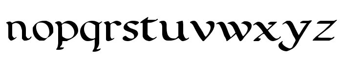 Calligraphy Pen Font LOWERCASE