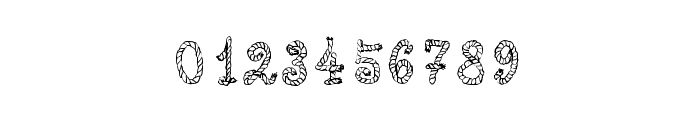 Calligraphy Rope Font OTHER CHARS