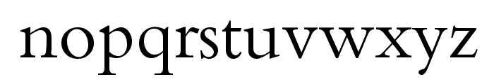 Calligraphy Font LOWERCASE