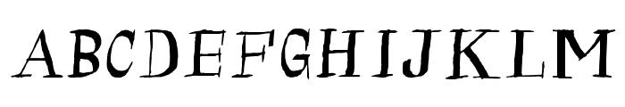 Calligraserif Font UPPERCASE