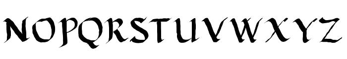 Calligula Font UPPERCASE