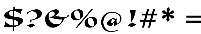 Callimundial Font OTHER CHARS