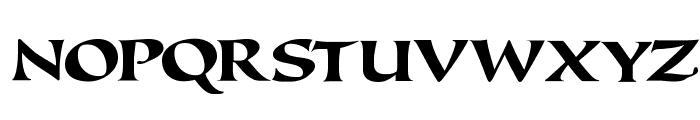 Callimundial Font UPPERCASE