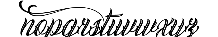 Calling Angels Personal Use Font LOWERCASE