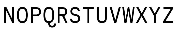 Calling Code Regular Font UPPERCASE