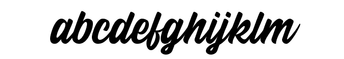 Calling Heart Font LOWERCASE
