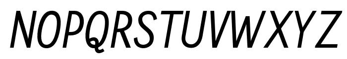 CallingCards-Italic Font UPPERCASE
