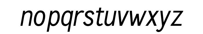 CallingCards-Italic Font LOWERCASE