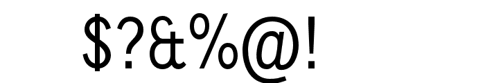 CallingCards Font OTHER CHARS