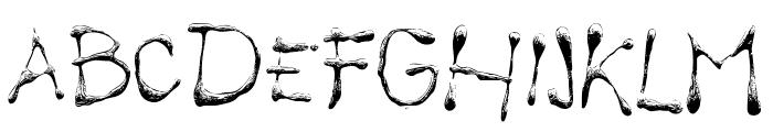Calliope fun Font UPPERCASE