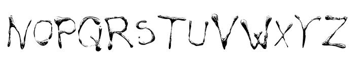 Calliopefun Font LOWERCASE